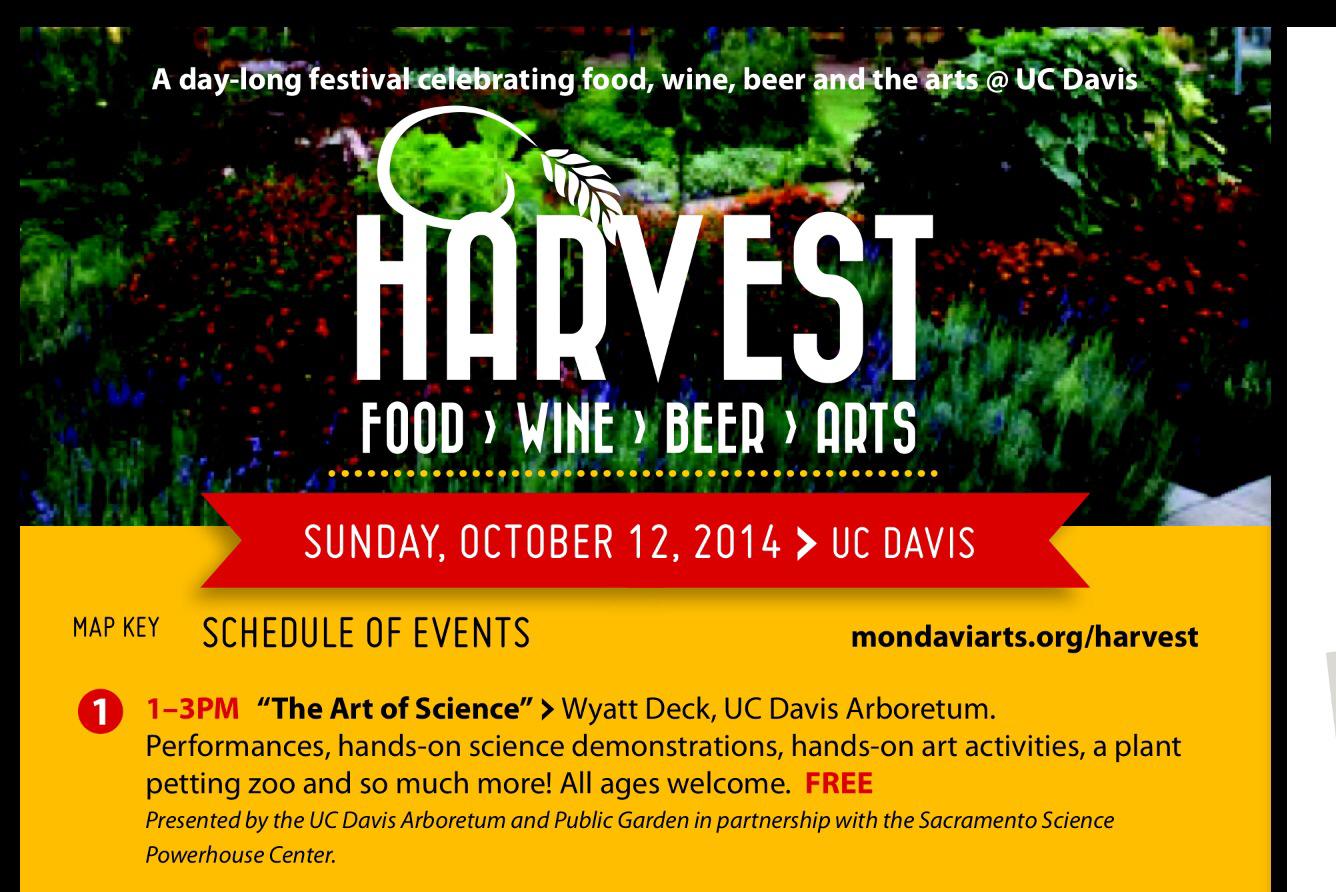 The Art of Science - UC Davis Arboretum Event